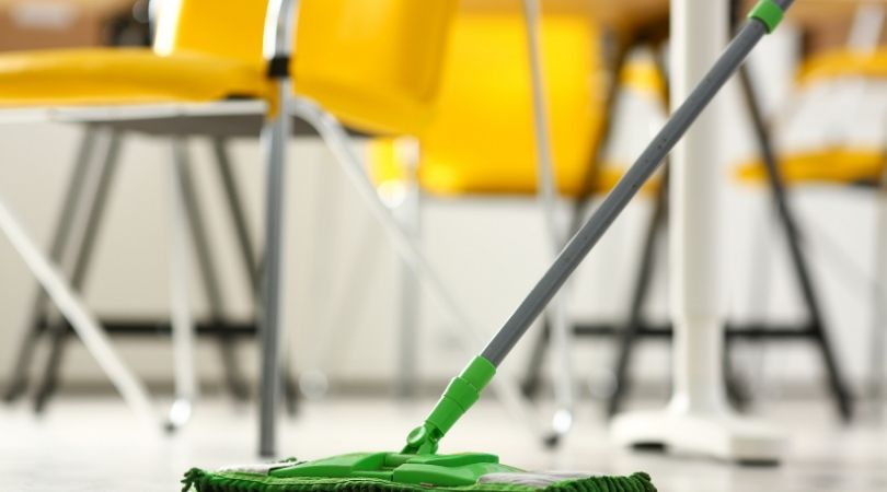 How To Clean Soap Residue Left Behind by Mopping